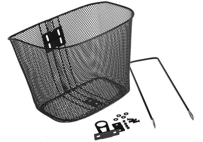Koszyk na kierownicę siatka ze wspornikiem CL-01