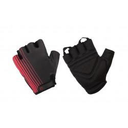 Rękawiczki ACCENT LINE M czarno-czerwone