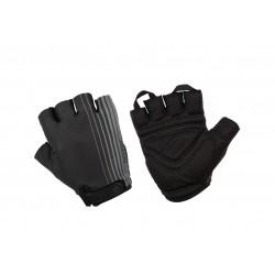 Rękawiczki ACCENT LINE czarno-szare M