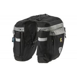 Sakwa na bagażnik Sport Arsenal 460 PODWÓJNA czarna
