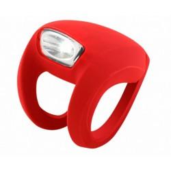Lampa przednia bateryjna KNOG FROG STROBE czerwona