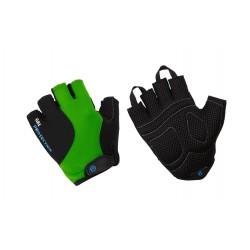 Rękawiczki ACCENT RIDER czarno-zielone XL