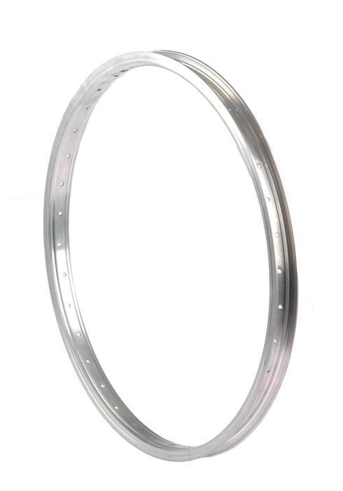 Obręcz 18'' aluminiowa 24H srebrna