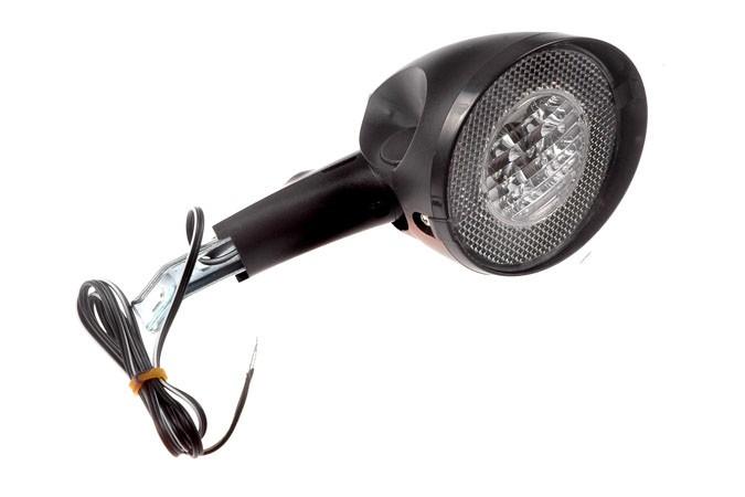 Lampa przednia CITY 4-diod. akum. z wył. na prądnicę