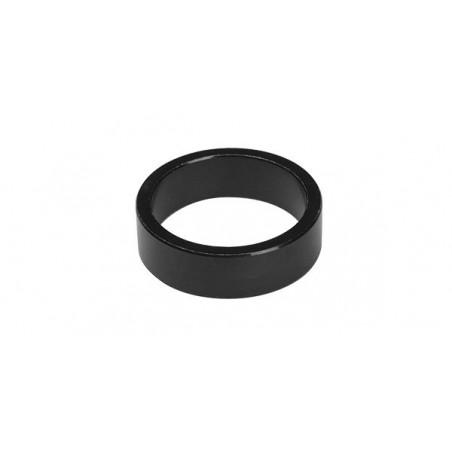 Podkładka dystansowa ACCENT sterów aluminiowa czarna 10 mm