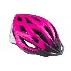 Kask rowerowy KELLYS DIVA różowo-biały M/L mat