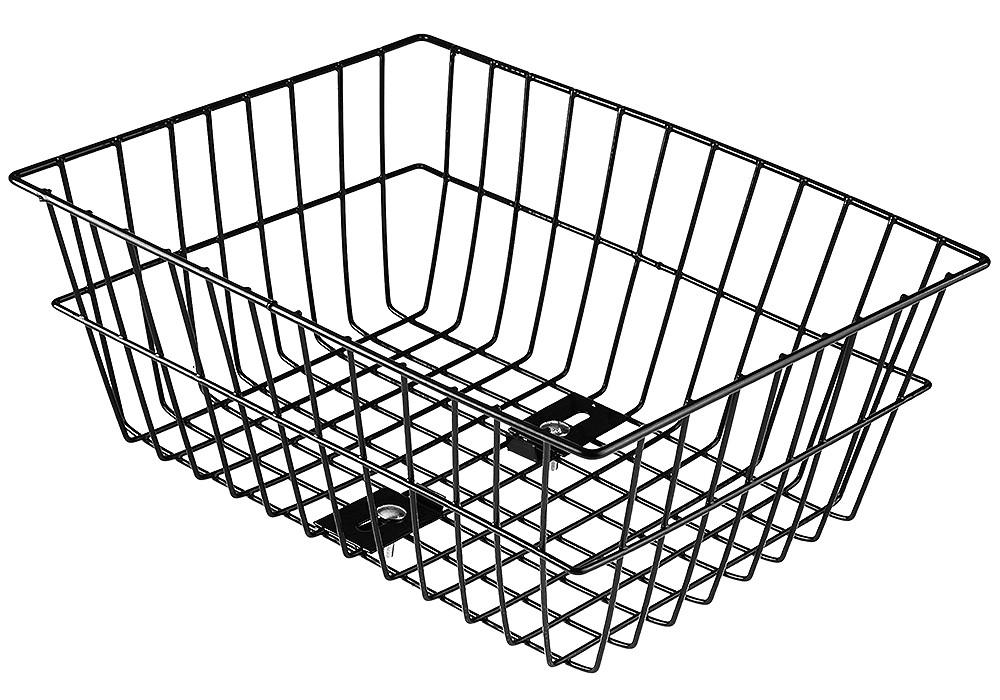 Koszyk na bagażnik BP-2 czarny duży