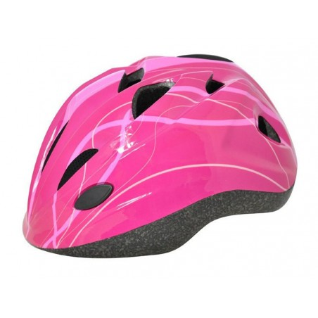 Kask dziecięcy AXER COOL FULL PINK  S (48-52)