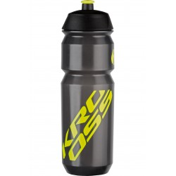 Bidon 0,75L KROSS Pure czarno-żółty LIME