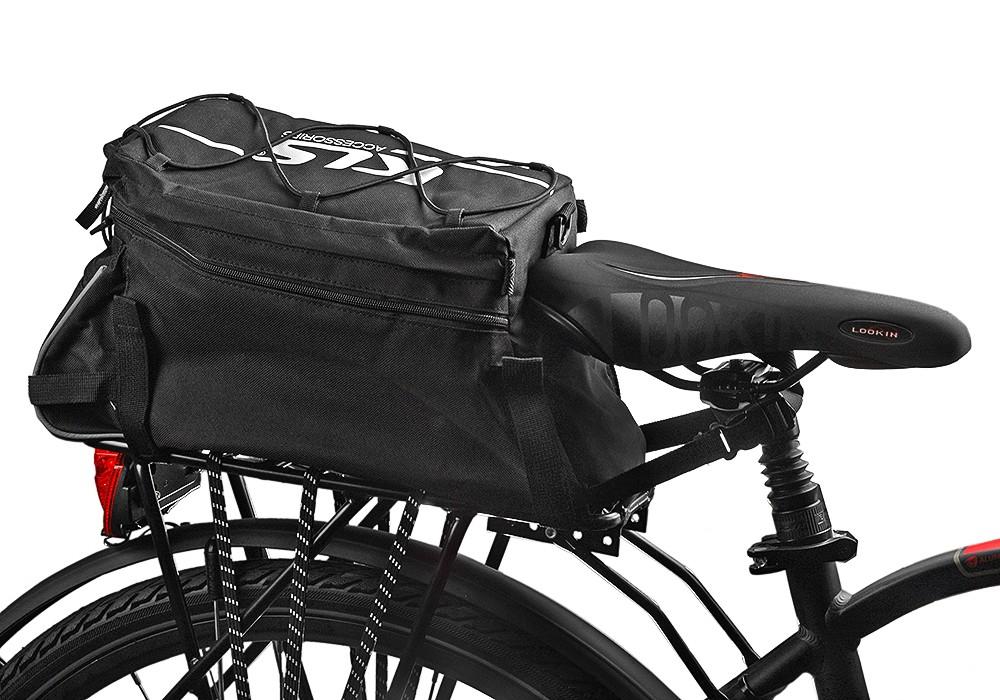 TORBA ROWEROWA na rower kufer SAKWA NA BAGAŻNIK 6258509347