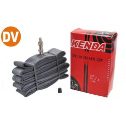 Dętka 27 x 1 1/4 (700x28/32C) KENDA DV-30mm