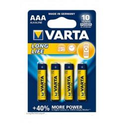 Bateria VARTA LONGLIFE LR03 AAA - 6szt, blister