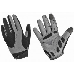 Rękawiczki ACCENT CHAMPION czarno-szare XL z długimi palcami 2017