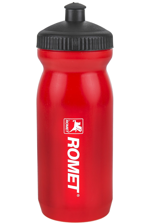 Bidon 0,6L Big Mouth czerwony logo ROMET