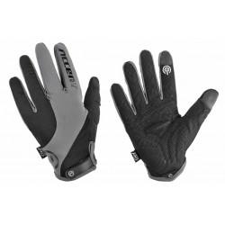 Rękawiczki ACCENT MARATHON czarno-szare M z długimi palcami 2017