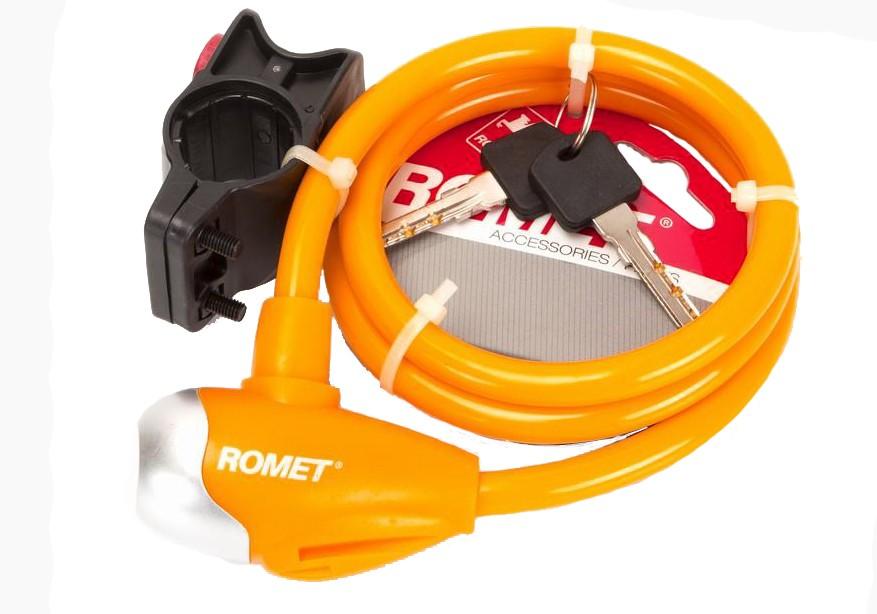 Zamknięcie spiralne na klucz SL576 10x100cm ROMET pomar.