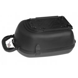 Pojemnik na bagażnik na klucz czarny