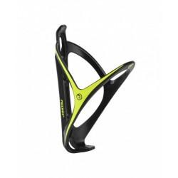 Koszyk bidonu ACCENT Smart czarno-zielony tworzywo