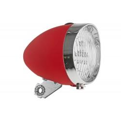 Lampa przednia bateryjna RETRO 3 LED 160302 czerwona