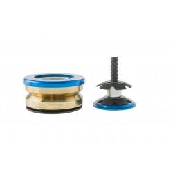 Stery DARTMOOR PRIME 1.1/8'' zintegrowane niebieskie