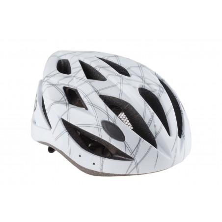 Kask rowerowy KELLYS REBUS biały mat S/M