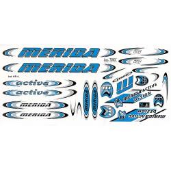 Naklejka KR4 - MERIDA niebieska