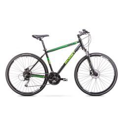 Rower ROMET 28 ORKAN 3 M czarno/zielony