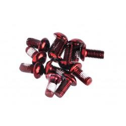Śruby do mocowania tarczy hamulcowej ProX TORX czerwone (12 szt.)