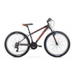 Rower ROMET RAMBLER 26  M  szaro-pomarańczowy