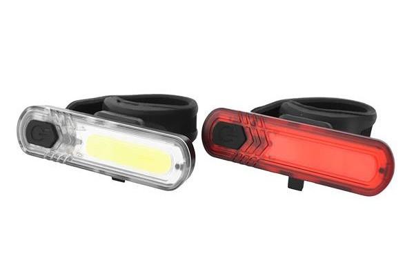 Zestaw lamp akumulatorowych 10 LED-CHIP - 30 lumenów, wodoodporna, USB
