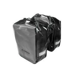 Sakwa na bagażnik CROSSO DRY BIG 60L szary srebrny