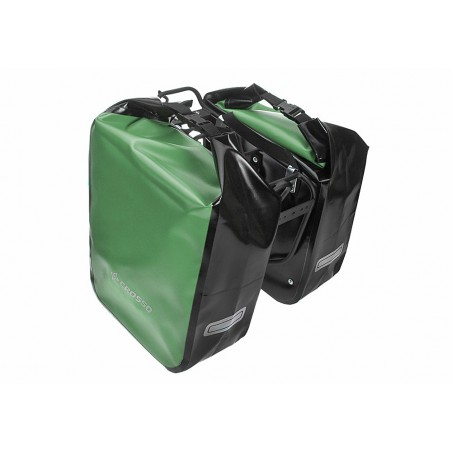 Sakwa na bagażnik CROSSO DRY BIG 60L zielony