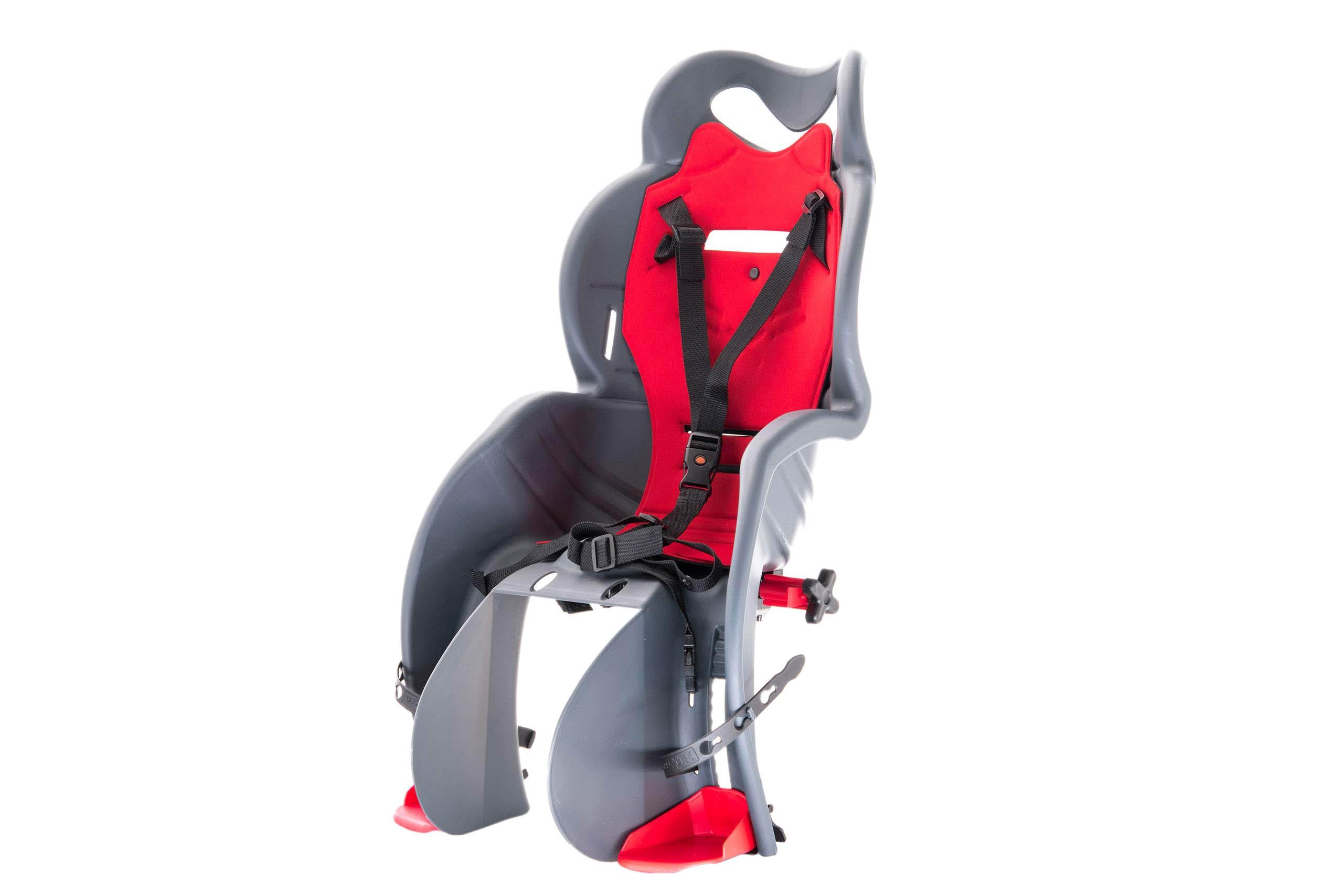 Fotelik dla dziecka  SANBAS na bagażnik ciemnoszary