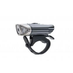 Lampa przednia PROX LUPUS 1-Led 3W USB czarna