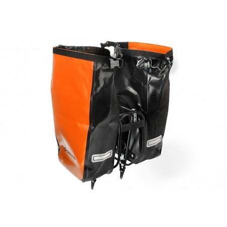 Sakwa na bagażnik CROSSO DRY SMALL 30L pomarańczowa