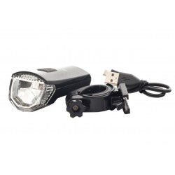 Lampa przednia /bateryjna/ 1-LED OSRAM CR7P ROMET R-100 czarna