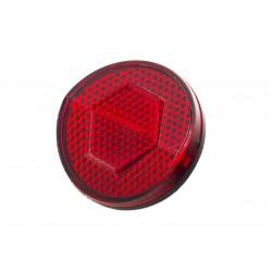 Odblask tylny czerwony na błotnik okrągły