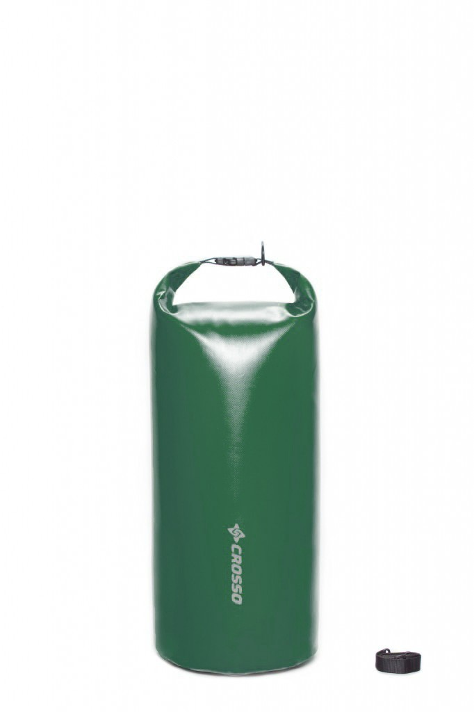 Sakwa WÓR transportowy na bagażnik CROSSO DRY BAG 40L zielona