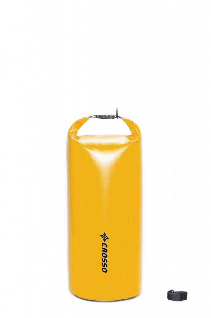 Sakwa WÓR transportowy na bagażnik CROSSO DRY BAG 60L żółty
