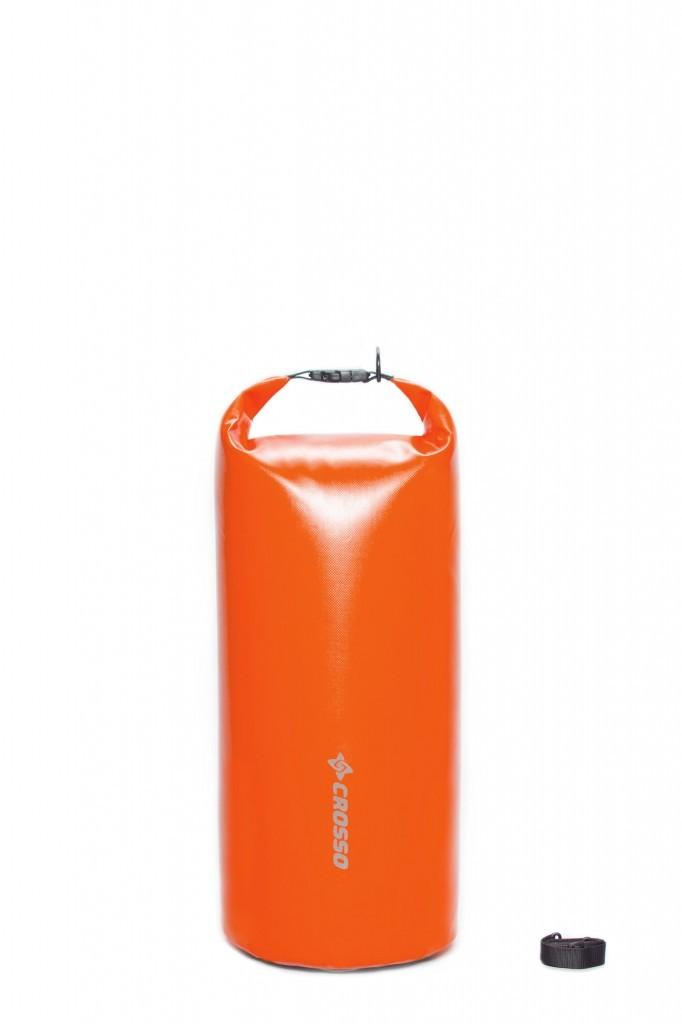 Sakwa WÓR transportowy na bagażnik CROSSO DRY BAG 50L pomarańczowy