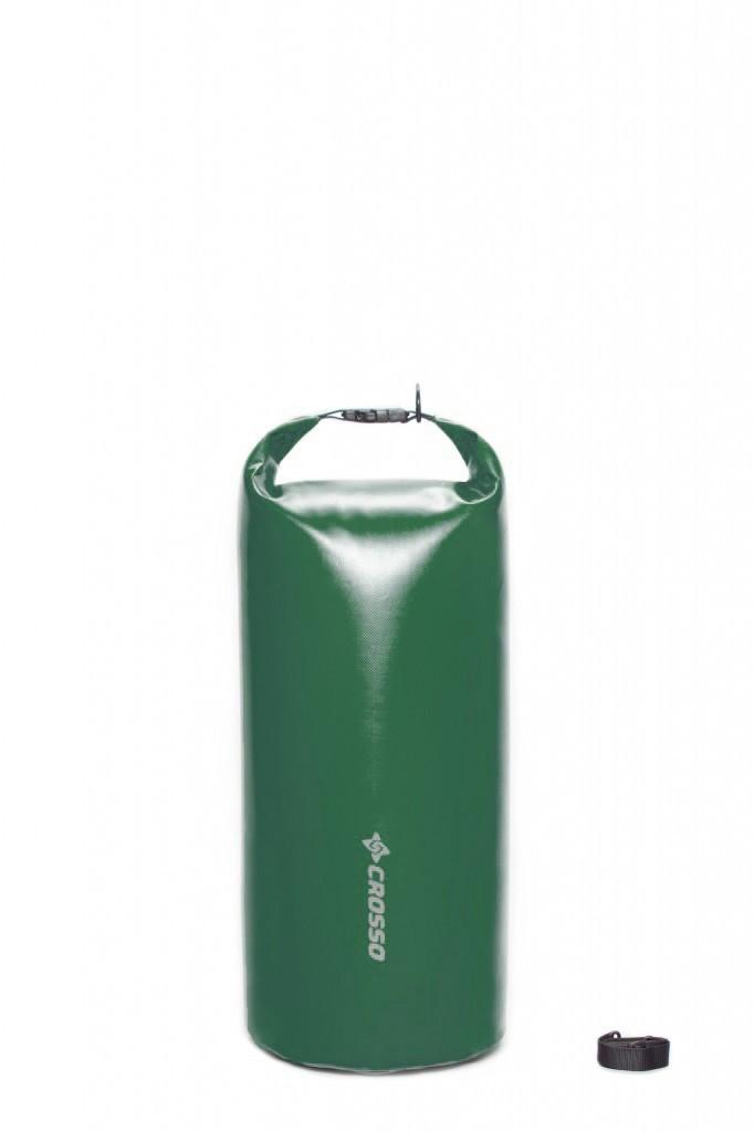 Sakwa WÓR transportowy na bagażnik CROSSO DRY BAG 50L zielona