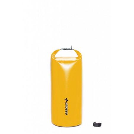 Sakwa WÓR transportowy na bagażnik CROSSO DRY BAG 50L żółty