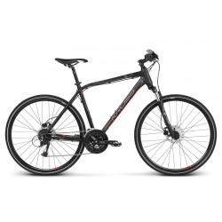 Rower 28 KROSS EVADO 5.0 M czarno-czerwony mat