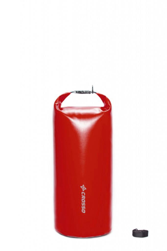 Sakwa WÓR transportowy na bagażnik CROSSO DRY BAG 30L czerwony