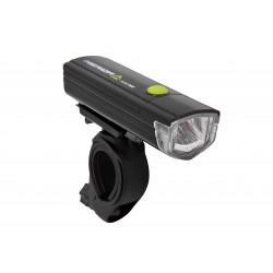 Lampa przednia /bateryjna/ MERIDA HL-MD054 3W czarna + baterie