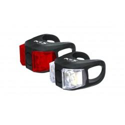 Lampa p+t KELLYS TWINS czarna