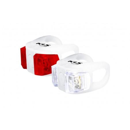 Lampa p+t KELLYS TWINS biała