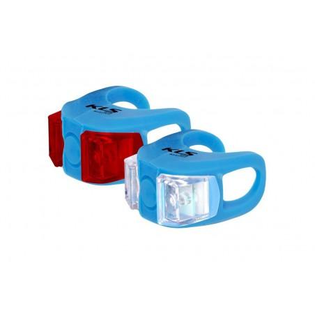 Lampa p+t KELLYS TWINS niebieskie (sky blue)