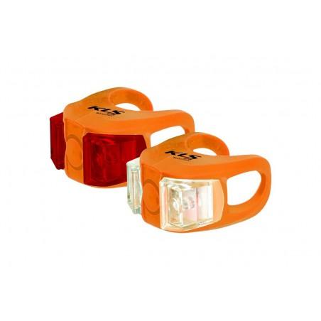 Lampa p+t KELLYS TWINS pomarańczowe