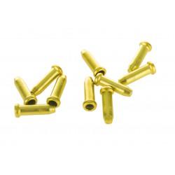 Końcówki linki ACCENT 2,3mm złote 10sztuk